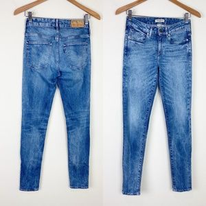 LEVIS Made & Crafted Empire Skinny Jeans Mid Rise